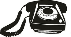 36630168 - vector illustration of an old telephone