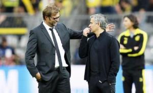 Klopp met Mourinho
