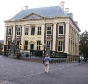 Ton en het Mauritshuis