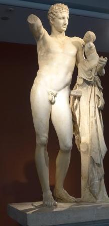 Hermes en Dionysos