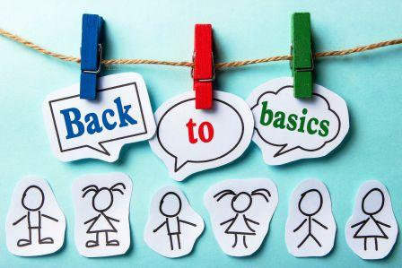 44378387 - back to basics paper speech bubbles with paper people
